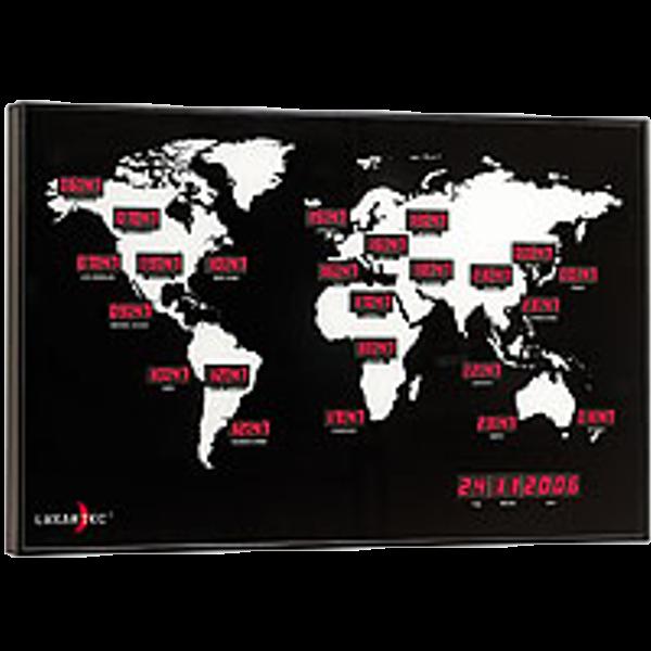 8f06dc91c06 Relógios de Parede   Relógio Parede Horário Mundial