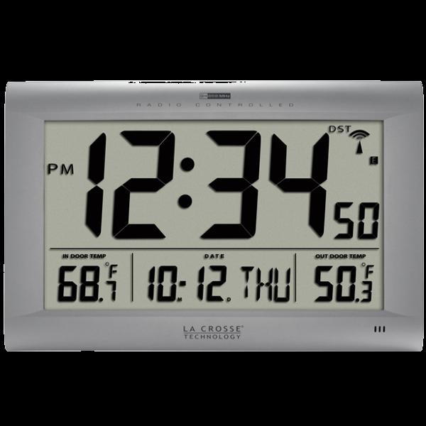 cd776866f07 Relógio Digital Parede Cristais Líquidos